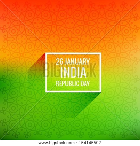 26 January Republic Day Vector Design Illustration