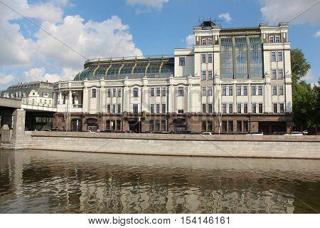 Moscow, Shopping and Office Center Negotsiant. Bolshaya Yakimanka