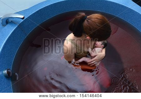 Pregnancy - Pregnant Woman Natural Water