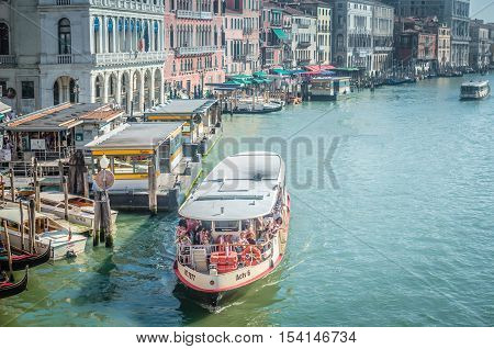 Venice A City In Northeastern Italy. It Is Famous For The Beauty Of Its Settings Archtecture And Art
