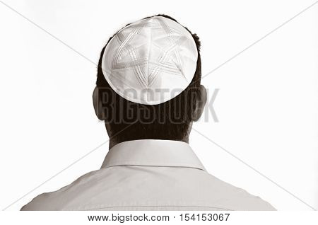 Jewish Man With Kippah