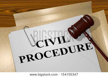 Civil Procedure - Legal Concept