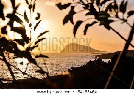 Sea Tropical Sunset
