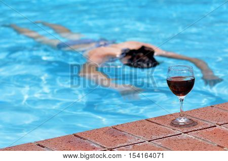 Drunk Drowning Person