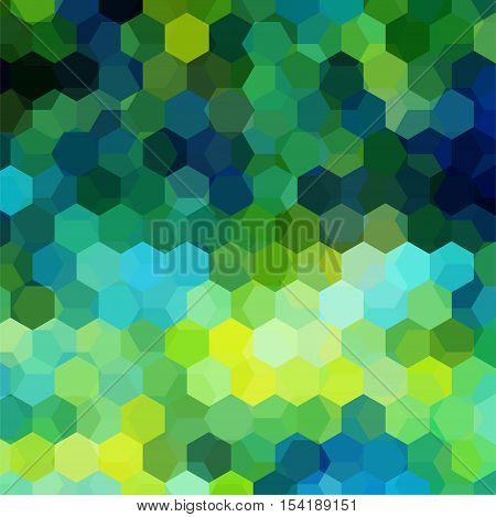 Abstract Background Consisting Of Hexagons. Geometric Design For Business Presentations Or Web Templ
