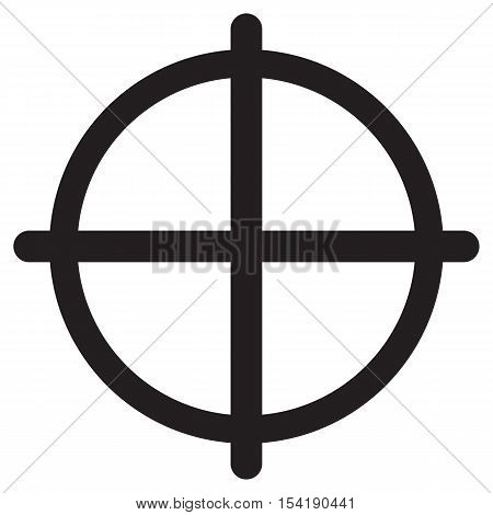 Crosshair Icon aim aiming army art background bullseye