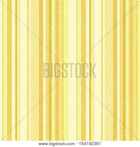 Vertical Stripes Pattern, Seamless Yellow Texture Background. Ideal For Printing Onto Fabric And Pap