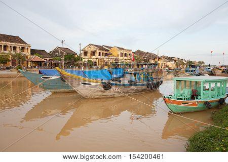 Fishing Boats Hoi An, Vietnam
