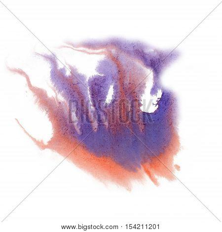 paint splash color ink watercolor isolate lime stroke splatter watercolour Red Blue aquarel brush art poster