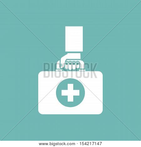 First Aid Kit In Hands Doctor