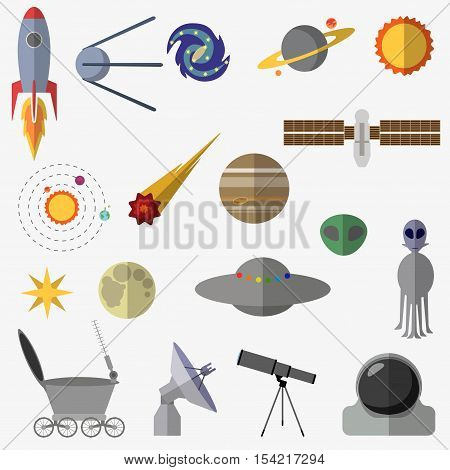 Set Of Space Elements.