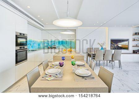 Modern Luxury Interior Design Of Kitchen