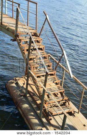 Rusty Metal Ladder #2