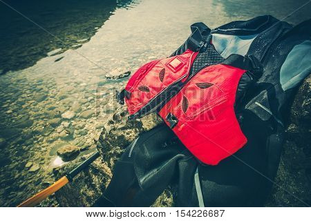 Water Sports Equipment Included Wet Suit and Life Jacket.