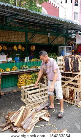 Local Market In Manila, Philippines