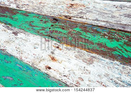 Close-up of old wood texture background - Stock Photo