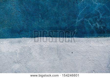 Concrete, concrete texture, concrete wall, wall background, bicolor concrete, colorblock, blue and white