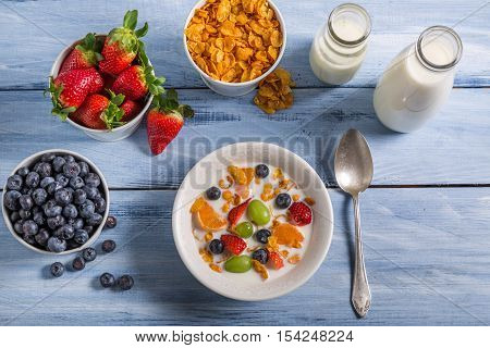 Ingredients For A Healthy And Nutritious Breakfast