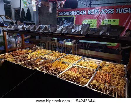 Makanan Khas Yogyakarta dengan berbagai macam menu yang kita pilih