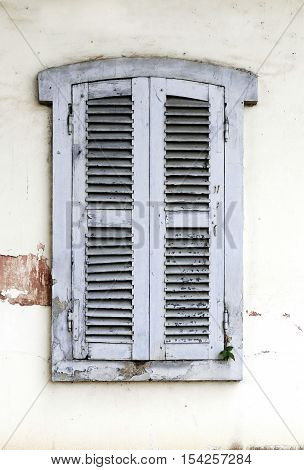 Old window shutter, Vintage Style - Stock Photo