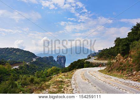 Road To Meteora, Greece