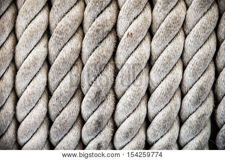 Rope background and texture - Stock Photo