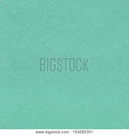 Turquoise knitwear fabric texture background close up