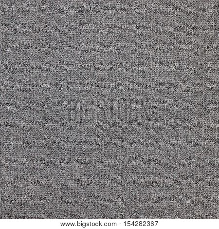 Grey knitwear  fabric texture background close up