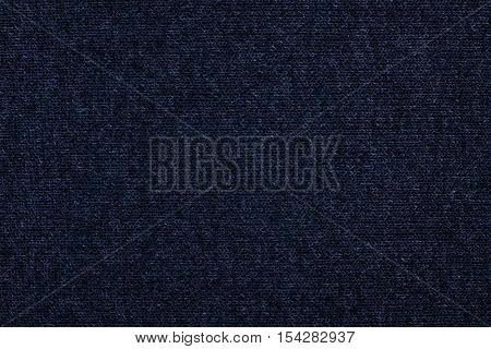 Blue knitwear fabric texture. Fashion fabric texture background
