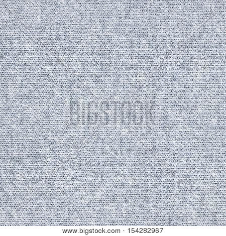 Cyan knitwear fabric texture. Fashion fabric texture background