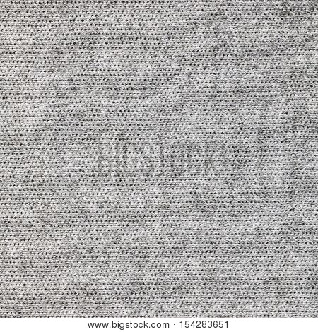 Grey knitwear fabric texture. Fashion fabric texture background