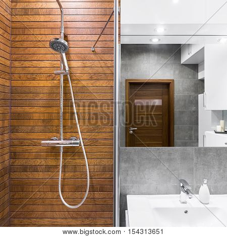 Beautiful Bathroom With Shower