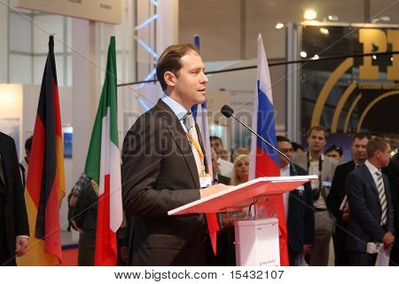 The Deputy Minister Of The Industry And Trade Of The Russian Federation Denis Manturov