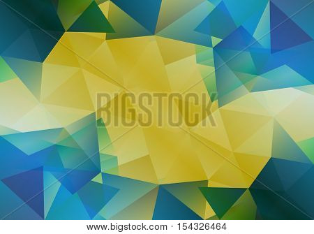Geometric background with triangular polygons. Abstract design. Vector illustration eps10.
