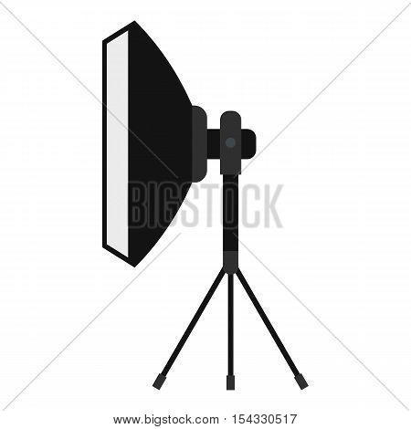 Spotlight icon. Flat illustration of spotlight vector icon for web