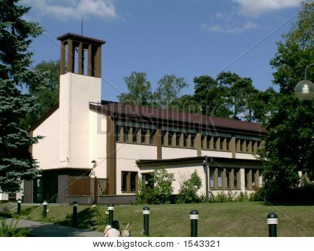 Old North Side Chapel On Ramstein Air Base