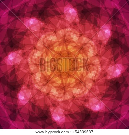 abstract vector spotted background - purple and orange