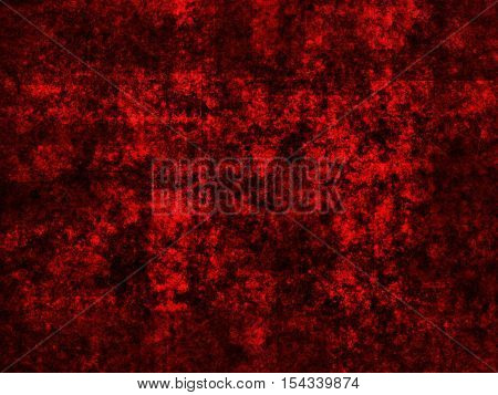 abstract wide colored scratched grunge background - red