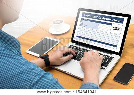 Membership Register To Application Form Member And Membership