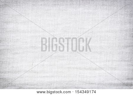 Texture of white raw fabric for the background designgray fabric texture for backdrop.