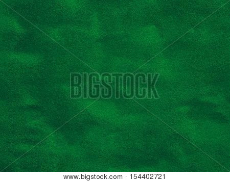 Close up surface of green velvet textured background