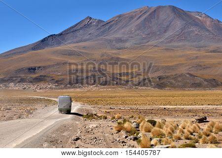Atacama Desert and mountains in Bolivia South America