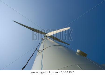 Wind Turbine From Bottom