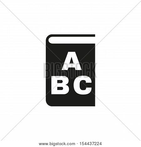 Alphabet icon. vector design. Library and ABC symbol. web. graphic. JPG. AI. app. logo. object. flat. image. sign. eps. art. picture - stock vector