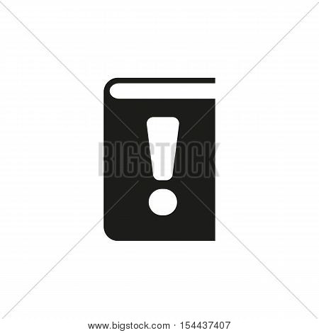 Manual icon. vector design. Tutorial and important information symbol. web. graphic. JPG. AI. app. logo. object. flat. image. sign. eps. art. picture - stock vector