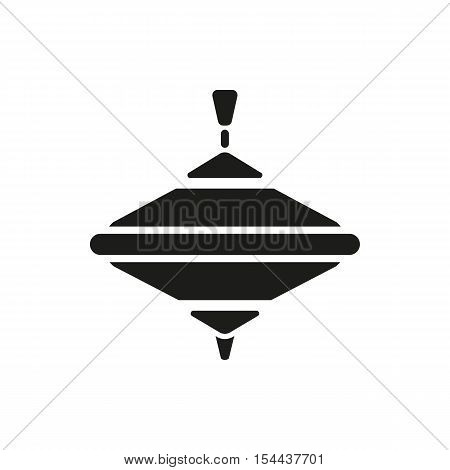 Whirligig icon. Whirlabout vector design. Peg-top symbol. web. graphic. JPG. AI. app. logo. object. flat. image. sign. eps. art. picture - stock vector