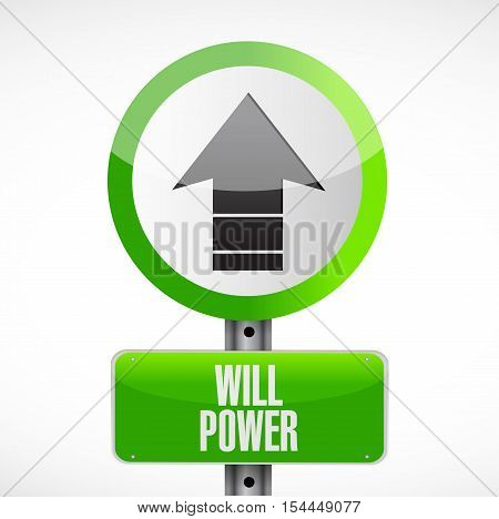 Will Power Road Sign Concept