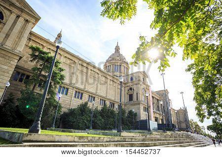National Art Museum Of Catalonia, Barcelona, Spain