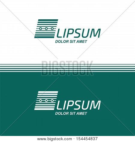 Business Technology. Vector logo design template. Electronic Digital data. Electronics concept icon. Corporate Management symbol.