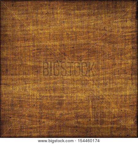 Rural brown sackcloth fabric grainy background texture